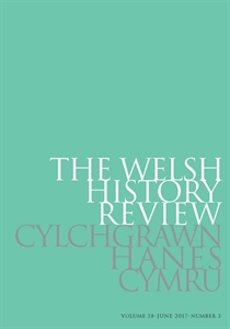 Picture of The Welsh History Review - Print & Online/ Cylchgrawn Hanes Cymru - Print & Ar-lein