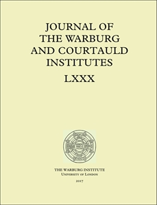 Picture of Journal of the Warburg and Courtauld Institutes (JWCI)