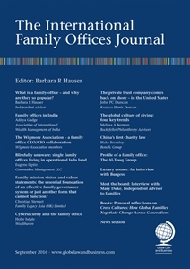 Picture of The International Family Offices Journal - Print and Online package