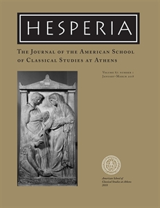 Picture of Hesperia - The Journal of the American School of Classical Studies at Athens