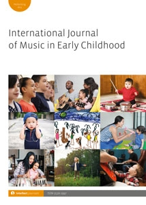 Picture of International Journal of Music in Early Childhood (IJMEC) - Online