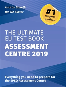 Picture of The Ultimate EU Test Book Assessment Centre Edition 2019