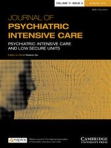 Picture of Journal of Psychiatric Intensive Care - Online