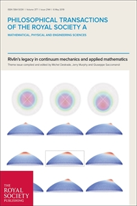 Picture of Philosophical Transactions A 2144: Rivlin's legacy in continuum mechanics and applied mathematics