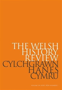 Picture of The Welsh History Review - Online / Cylchgrawn Hanes Cymru - Ar-lein
