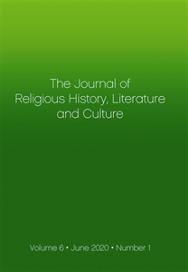 Picture of Journal of Religious History Literature and Culture - Print and Online