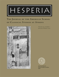 Picture of Hesperia - The Journal of the American School of Classical Studies at Athens - Online Only