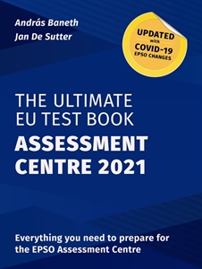 Picture of The Ultimate EU Test Book Assessment Centre 2021