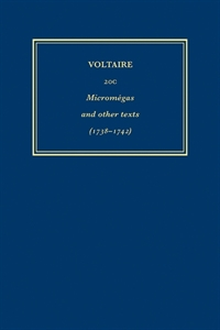 Picture of Oeuvres Complètes de Voltaire 20C - Micromégas and other texts (1738-1742)
